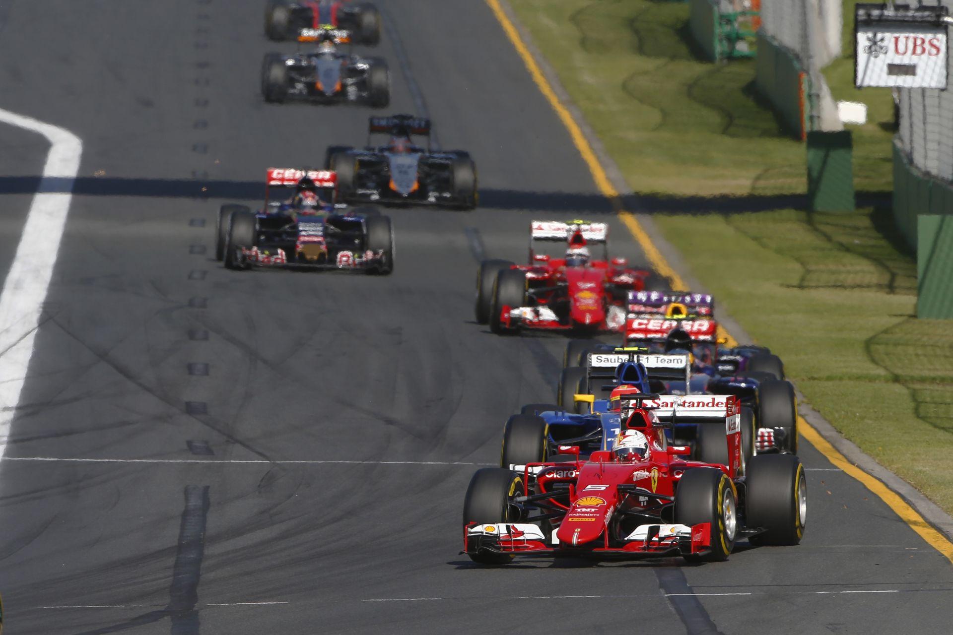 F1 2015: Onboard felvételek az évadnyitó Ausztrál Nagydíjról