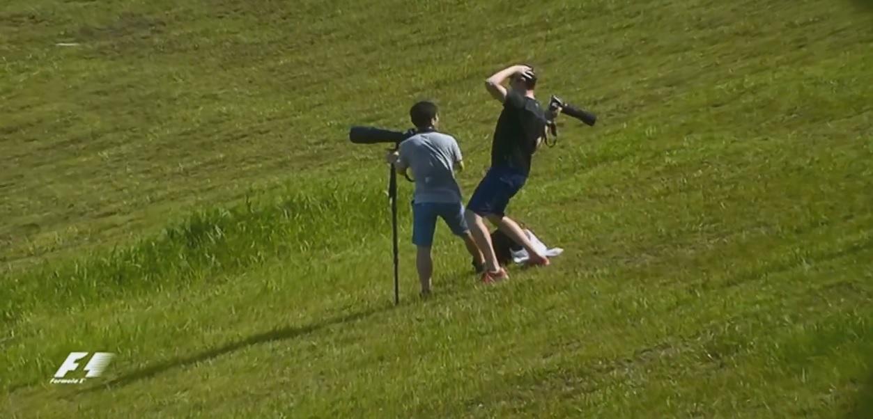 Hatalmas: Megőrült, amikor meglátta, hogy veszik az F1-es kamerák