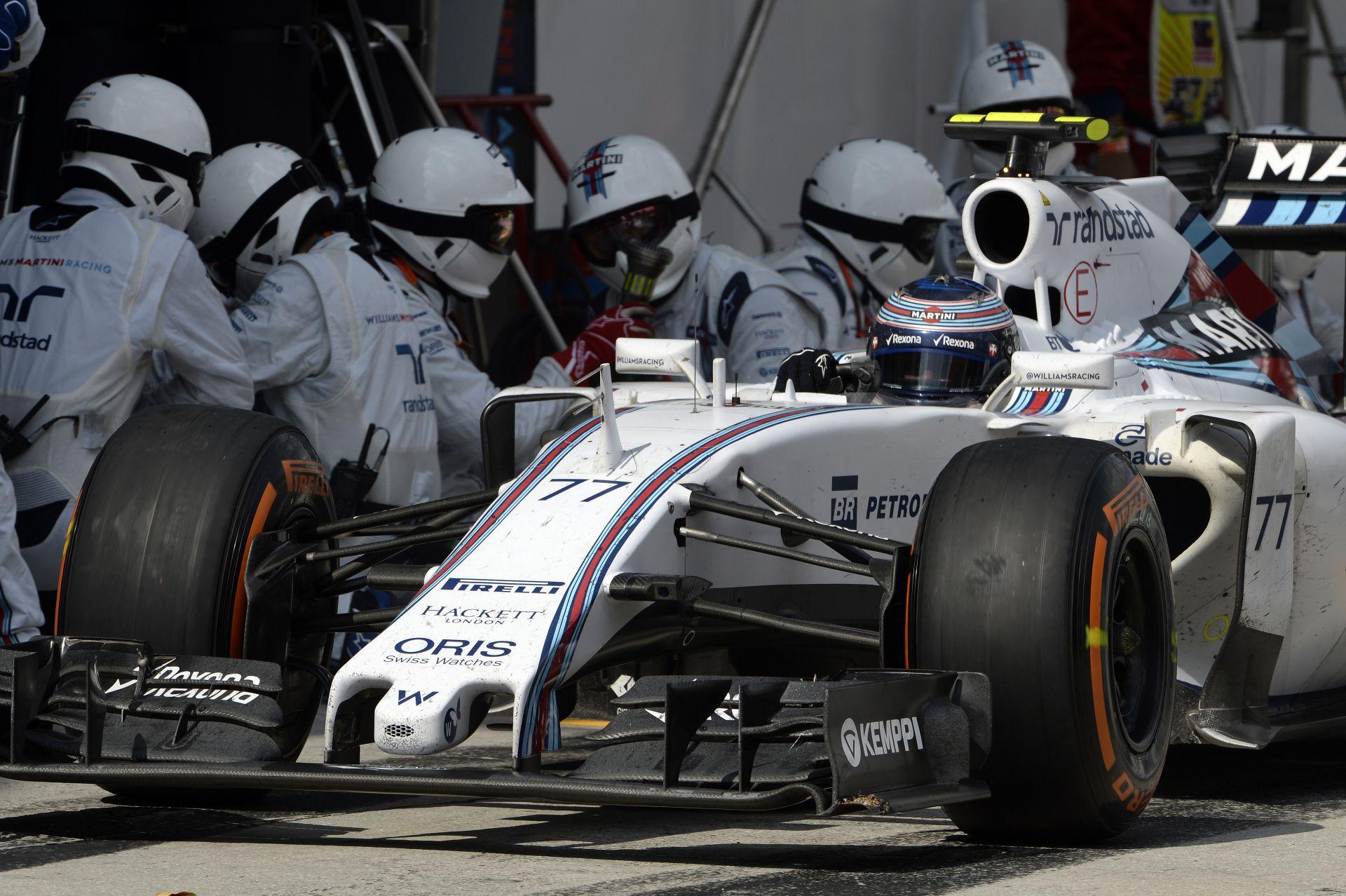 Könnyen visszaeshet a Williams, ha nem reagál: A Ferrari biztosan előttük van