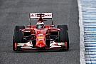 Raikkönen a pályán a Ferrarival  Jerezben – képgaléria
