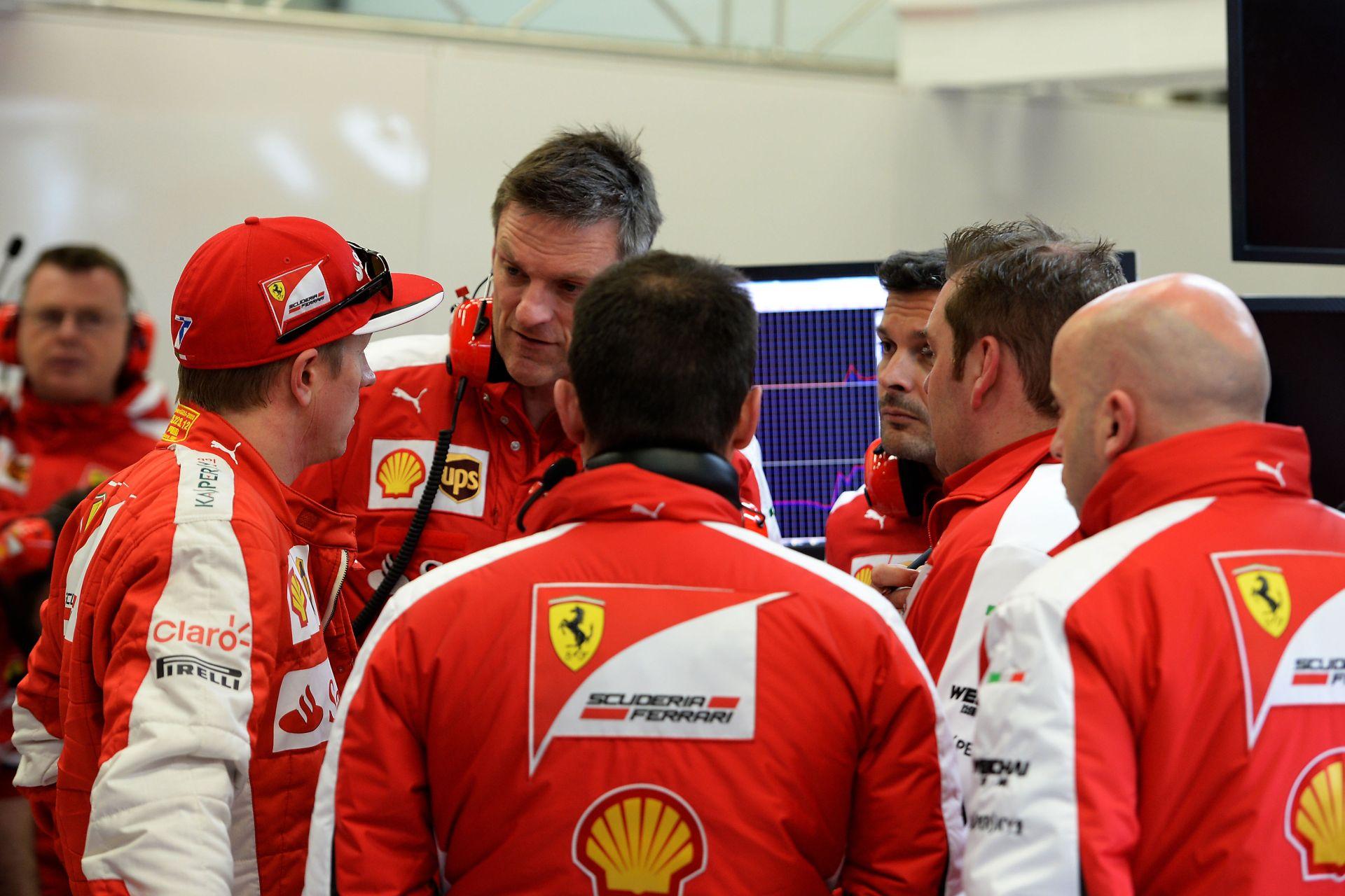 """Raikkönen """"külön stábja"""" megkezdte a munkát a finnel a Ferrarinál"""