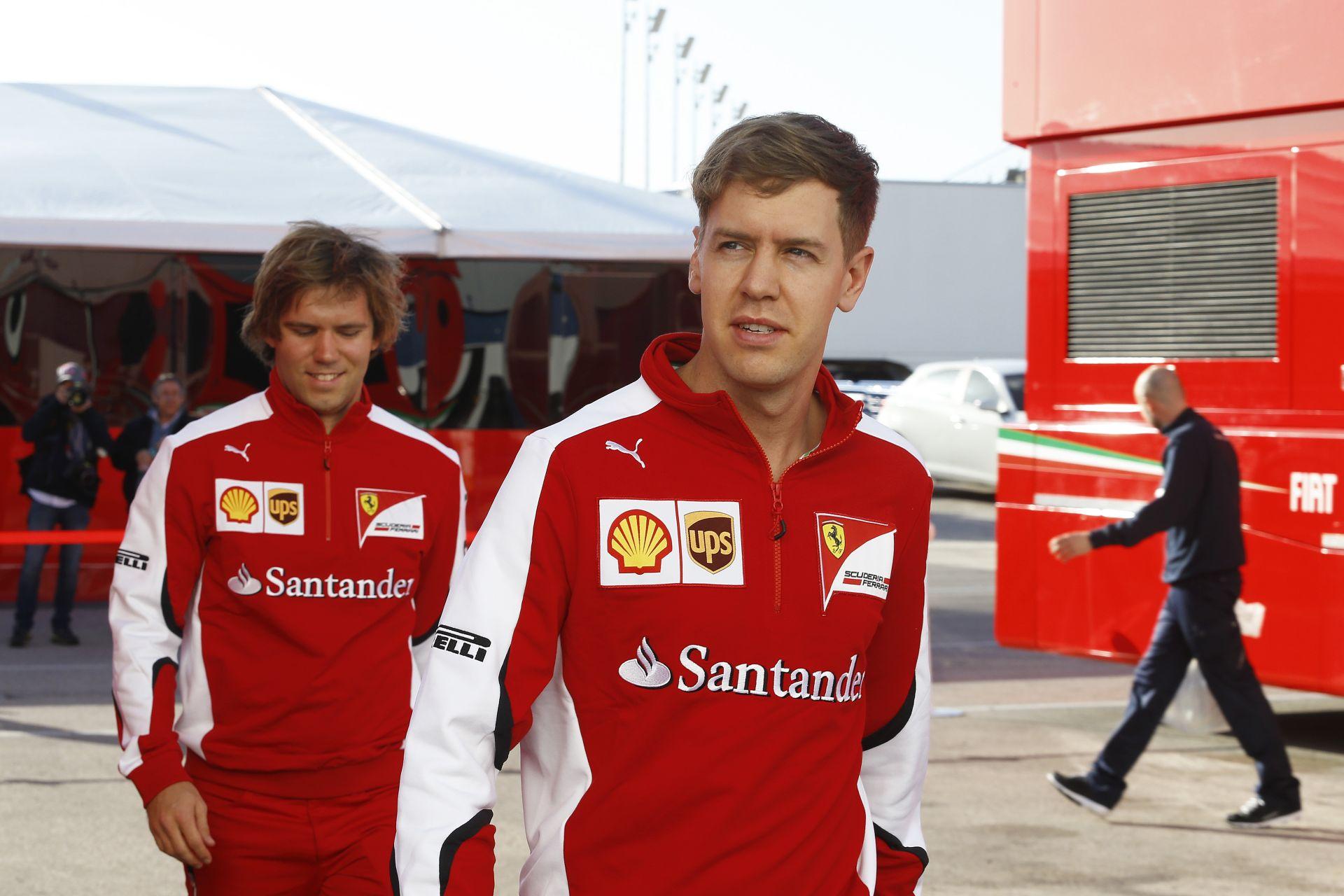 """Az """"isteni"""" Sebastian Vettel lesz a Ferrari új vezére?"""