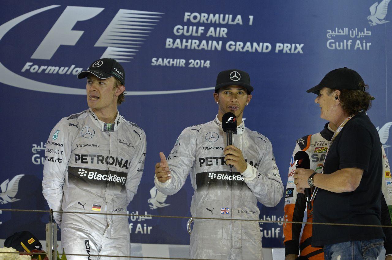 Rosberg elleste Hamilton trükkjeit, így a brit ugyanerre készül