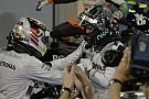 Mercedes AMG: a két versenyző betekinthet egymás adataiba, és ez így is marad