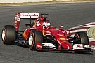 Raikkönen majdnem közepes keverékkel is nyerni tudott Barcelonában a Ferrarival: Hamilton, Rosberg és a McLaren-Honda is kidőlt