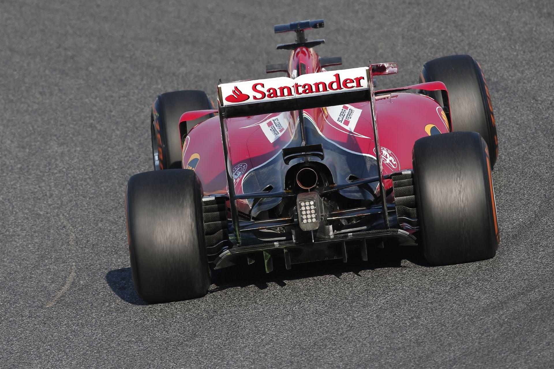 Raikkönen csak dicsérni tudja a Ferrarit, ami ma is remekül működött alatta