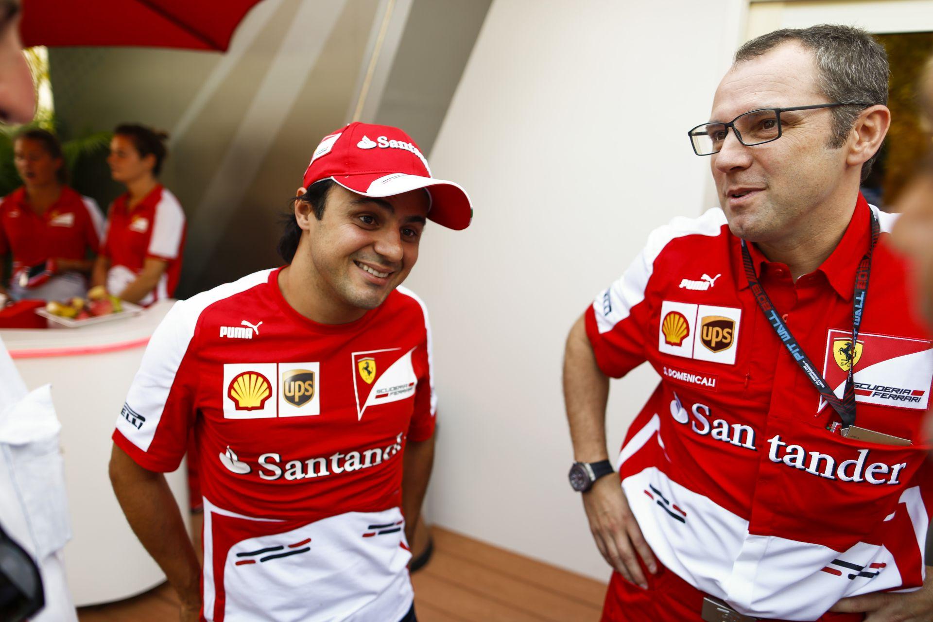 Massa szerint Domenicali jól tette, amikor lemondott a Ferrarinál