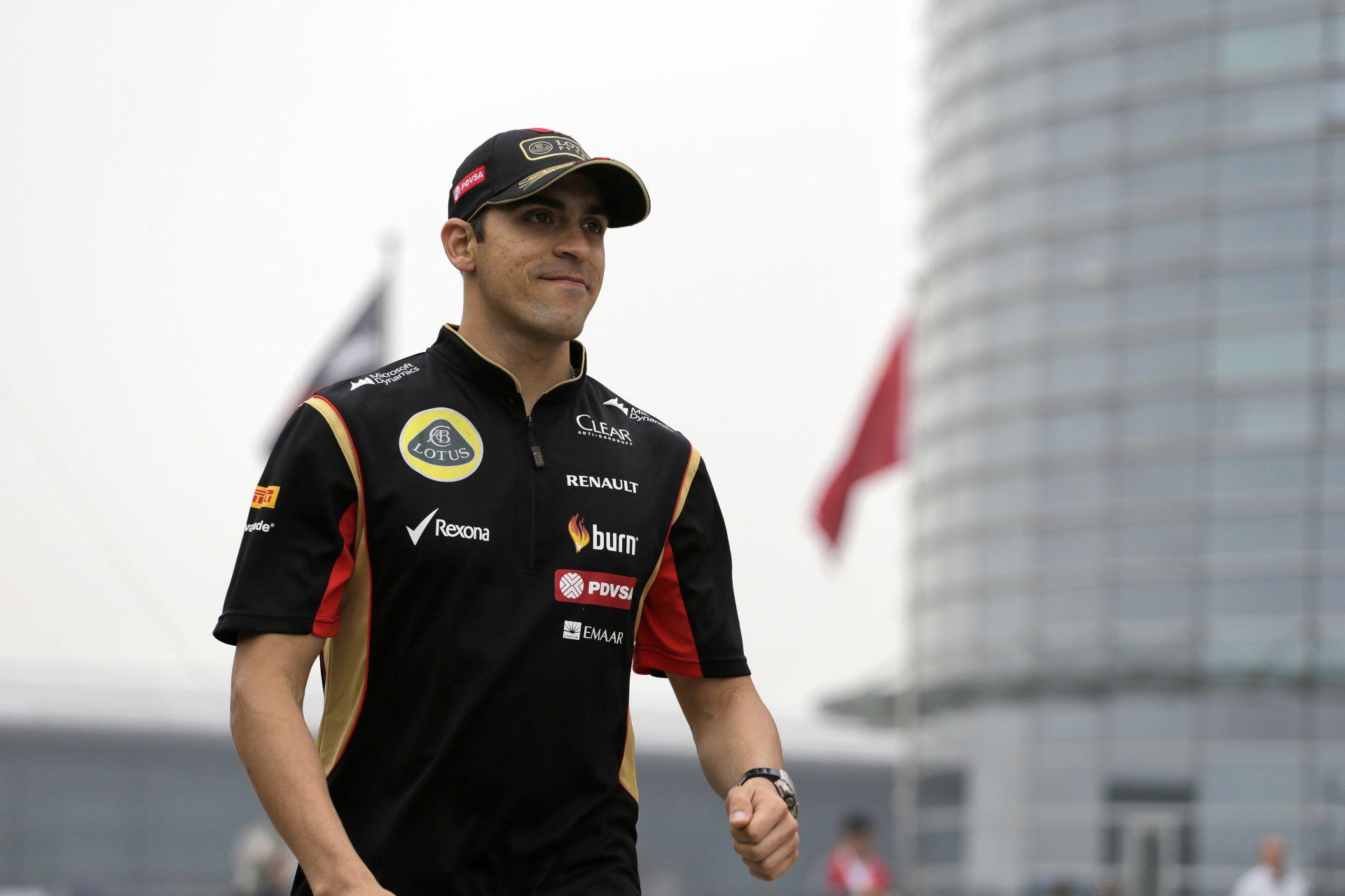 Maldonado elismerte, ő hibázott, amikor összetörte a Lotust Kínában