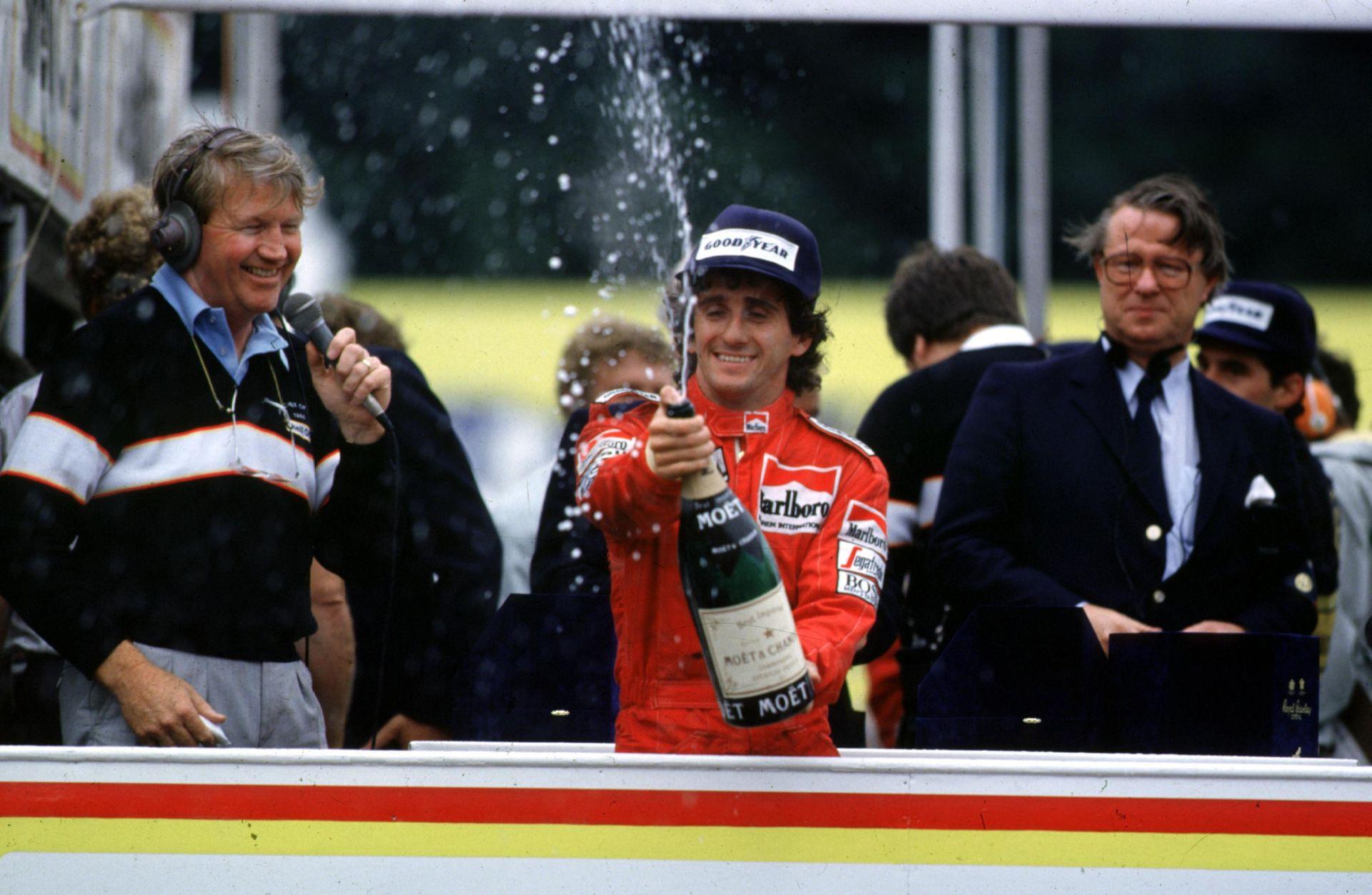 Ma 60 éves a négyszeres világbajnok Alain Prost