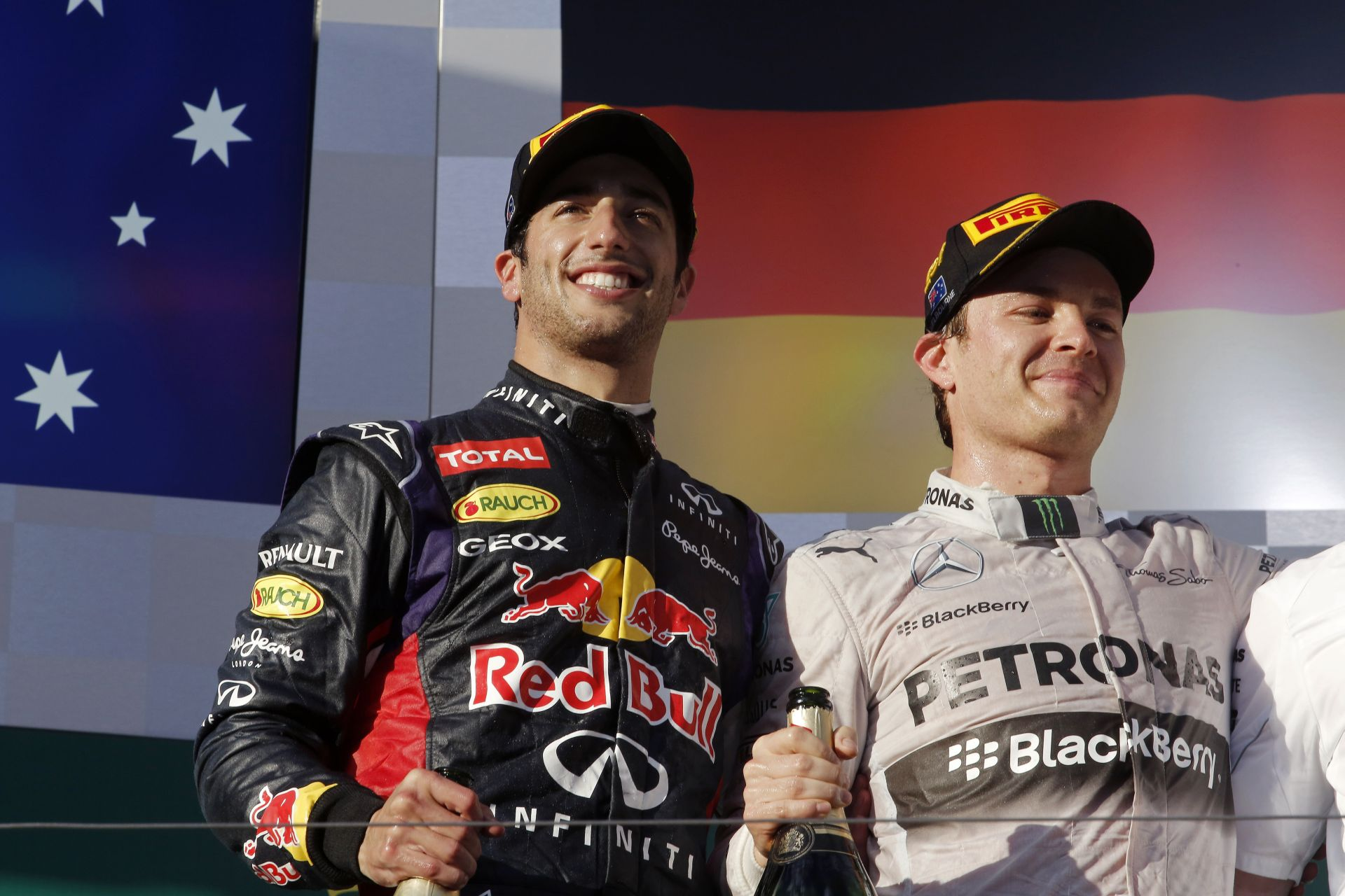 Rosberg: Hihetetlen gyors volt a Mercedes! Hihetetlen!