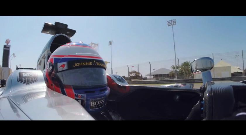 Exkluzív felvételek a McLarentől: Az MP4-29 és Jenson Button