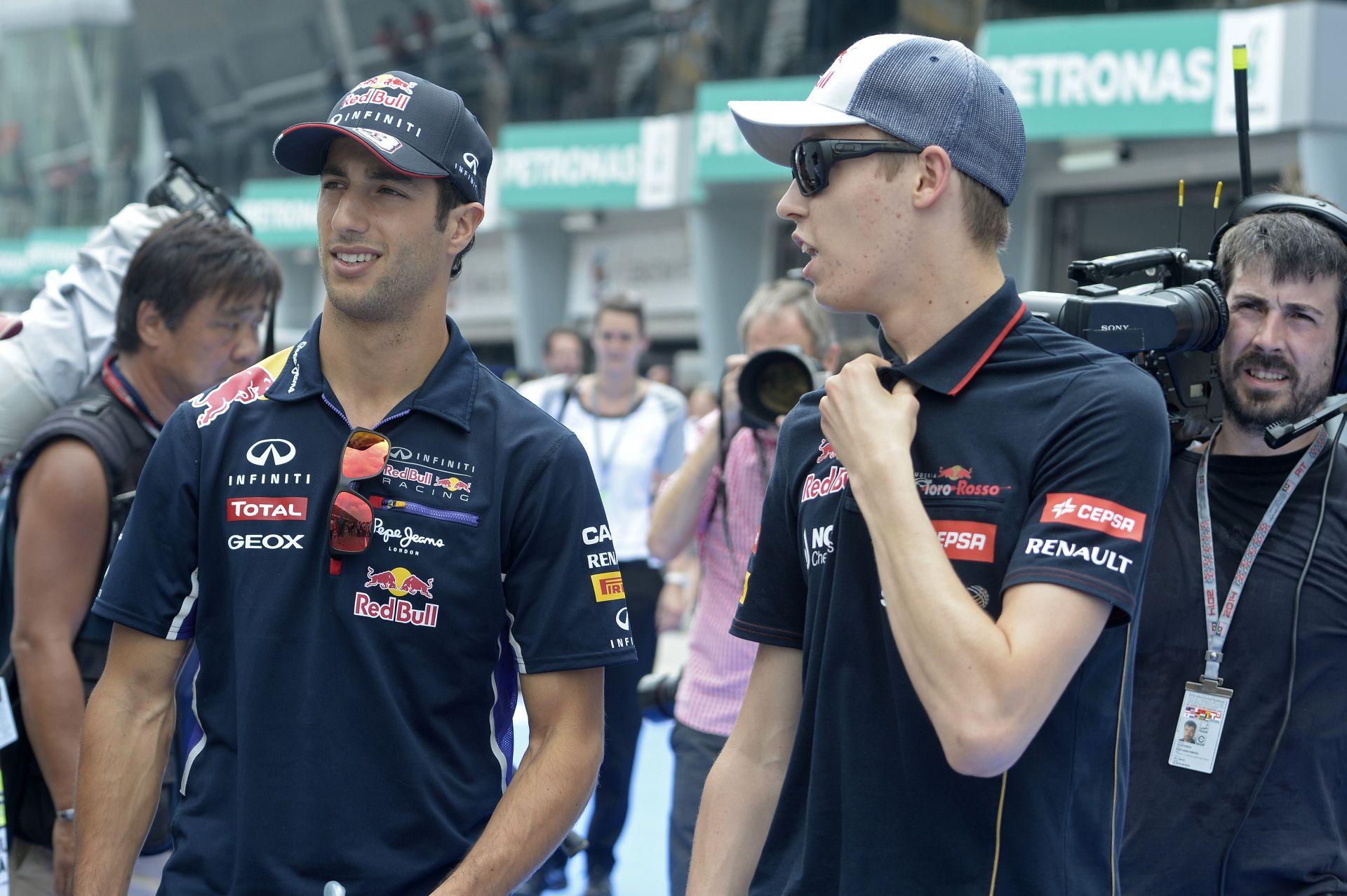 Hivatalos: Ricciardo 10 helyes rajtbüntetést kapott a Bahreini Nagydíjra