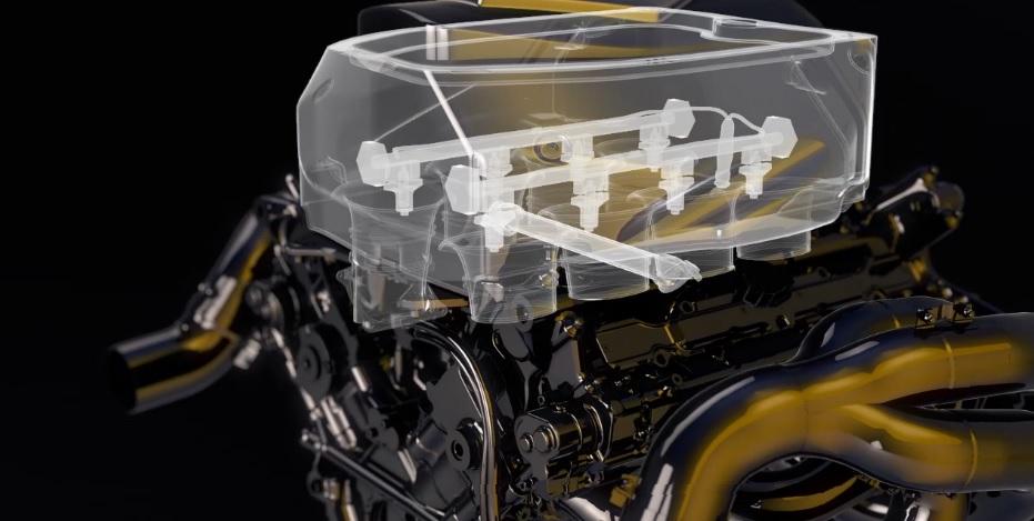 A Renault egy interaktív videóval búcsúztatja a V8-as motort
