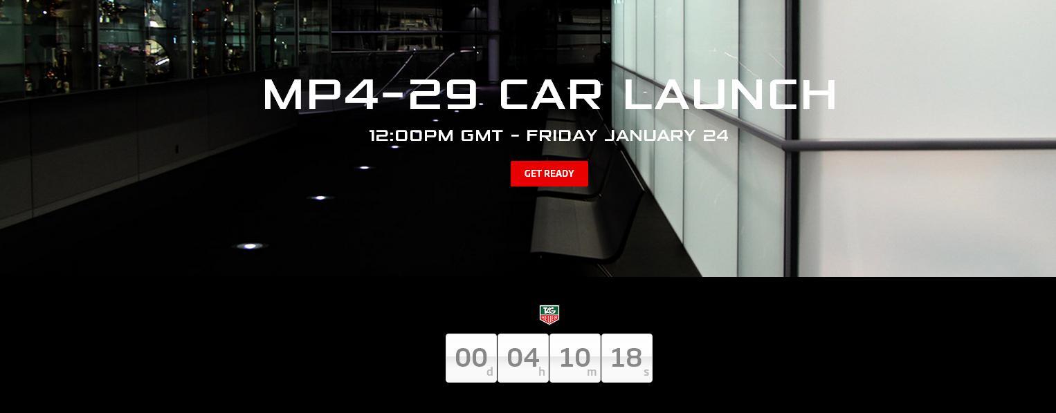 Ma délben mutatkozik be a McLaren 2014-es F1-es autója