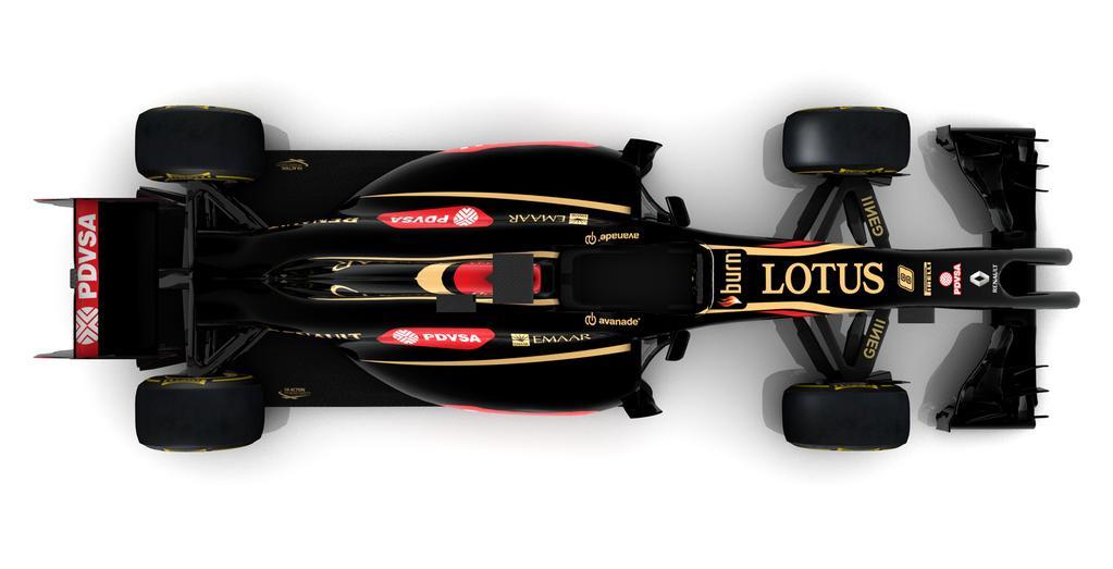 Felülről is megmutatta a 2014-es autóját a Lotus: Új kép az E22-ről