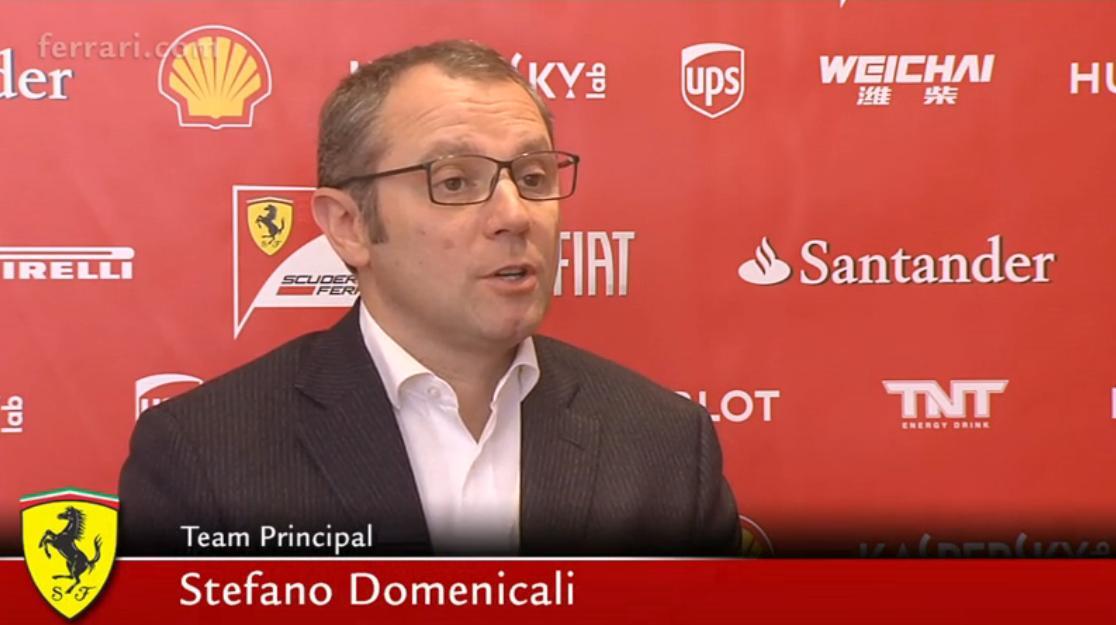 Domenicali: a Ferrari nem omolhat össze a rá nehezedő nyomás miatt