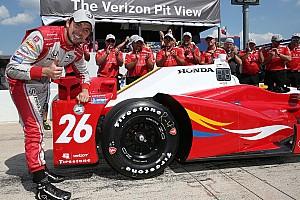 IndyCar Reporte de calificación Muñoz logró su primera pole en IndyCar