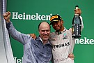 Hamilton agradece a Mercedes y rinde homenaje a Ali