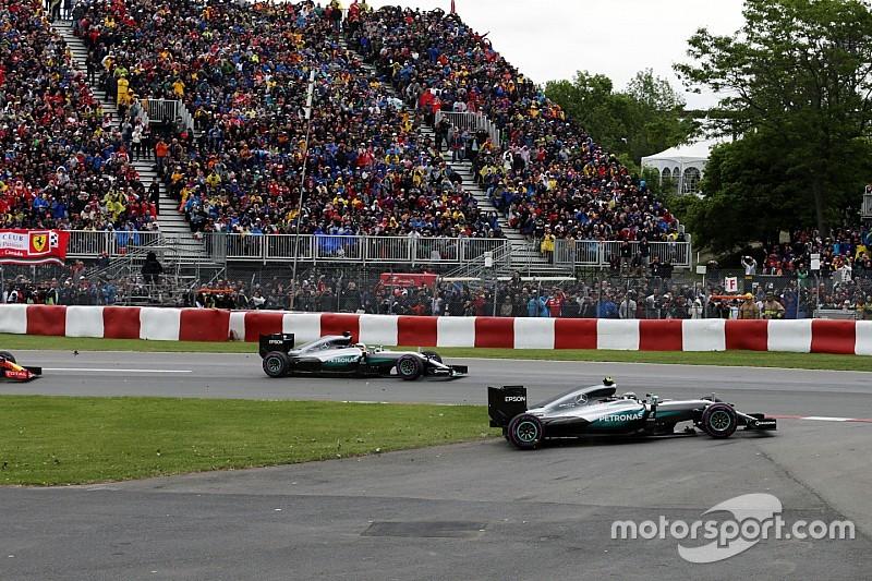 """Wolff: """"Lo de Hamilton y Rosberg fue una maniobra dura"""""""