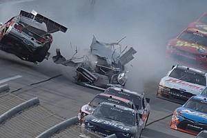 NASCAR BRÉKING Újabb nagyon durva csattanás a NASCAR-ban: ez fájt!