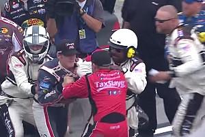 NASCAR BRÉKING Ismét elszabadultak az indulatok a NASCAR-ban: Bunyó a két versenyző között