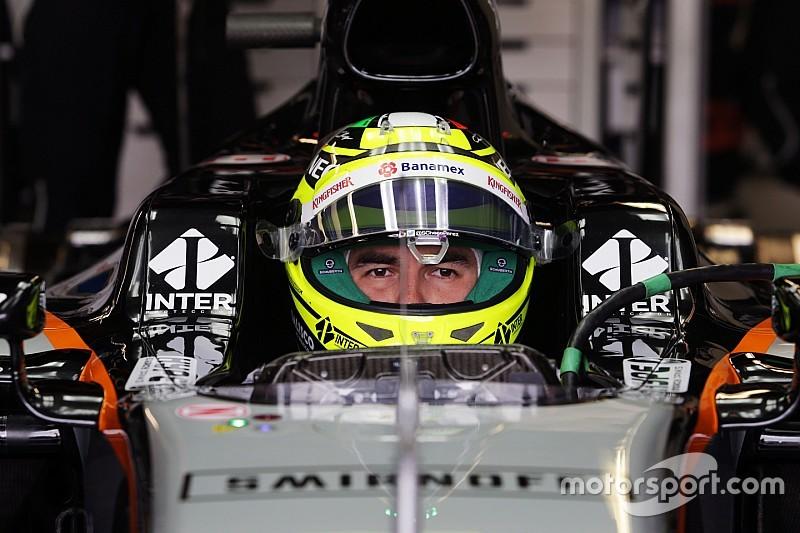 Pérez no se distrae con los rumores sobre Ferrari