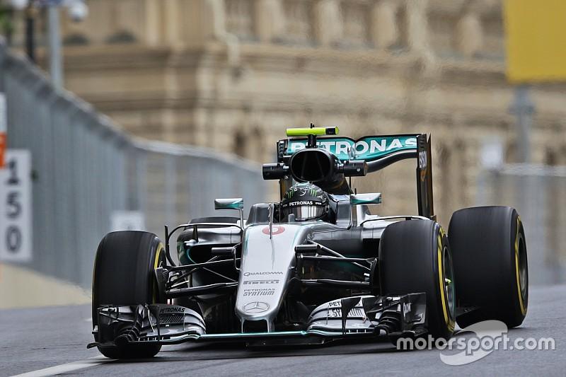 """Rosberg geeft toe: """"Ik moet aan de bak"""""""