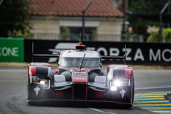 Crashes verstoren warm-up 24 uur van Le Mans, Audi bovenaan