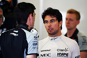 Formule 1 Actualités Pénalité pour Pérez après son crash lors des EL3