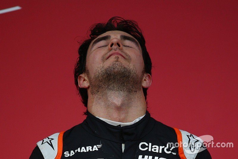 "Sergio Pérez: ""Ha sido un gran año con dos podios"""