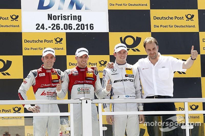 DTM на Норісрингу: Першу гонку виграє Едоардо Мортара
