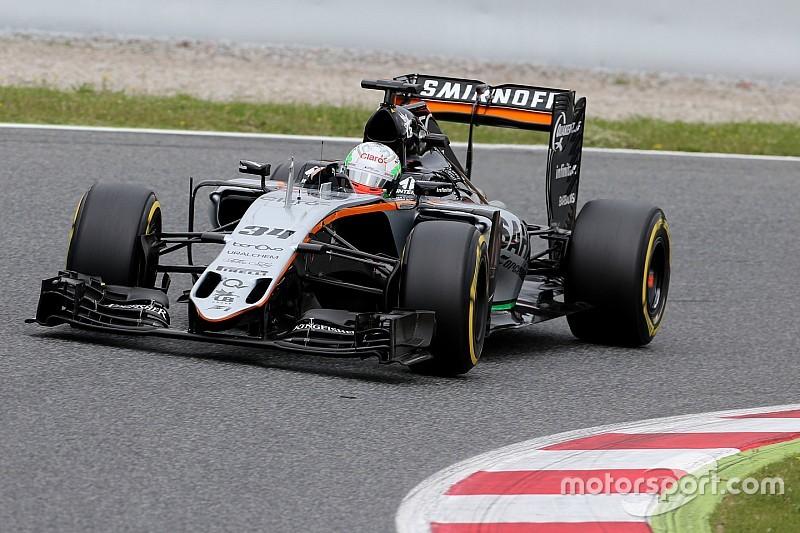 Celis Jr. vervangt Perez tijdens eerste training in Oostenrijk