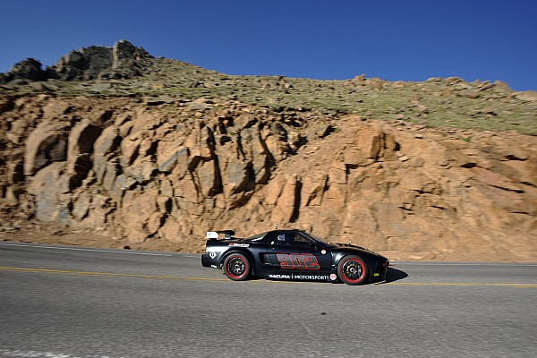 Hillclimb Acura NSX Supercar claims class victory in North American racing debut at Pikes Peak
