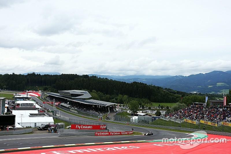 Kerbs op de Red Bull Ring aangepast voor F1-weekend