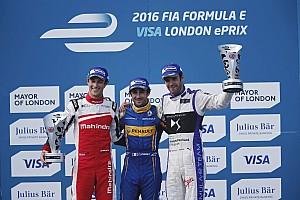 Formula E Reporte de la carrera Nicolas Prost gana en la penúltima carrera de Fórmula E