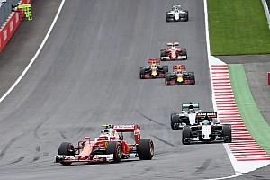 F1 Reporte de la carrera Räikkönen: Está bien estar en el podio, es mejor que ser cuarto