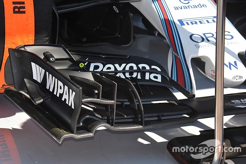 Williams tendrá nuevo alerón en Silverstone