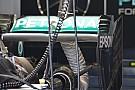 Mercedes: l'ala posteriore con la paratia copiata dalla Toro Rosso!
