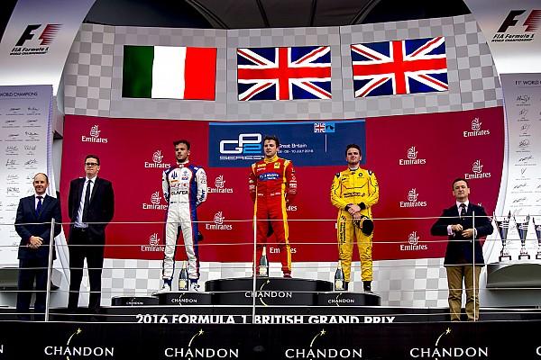 Silverstone GP2: King se impone en un final bajo la lluvia; Ghiotto y Rowland, podio