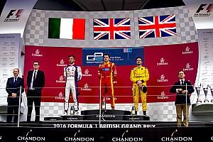 FIA F2 Reporte de la carrera Silverstone GP2: King se impone en un final bajo la lluvia; Ghiotto y Rowland, podio
