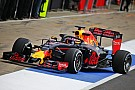 Red Bull probeert halo uit tijdens eerste testdag op Silverstone