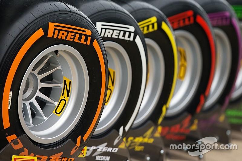 Pirelli назвала доступные для Гран При Мексики составы