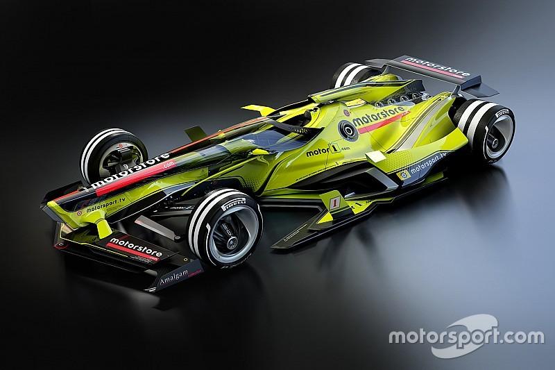 Designstudie: Formel 1 im Jahr 2030
