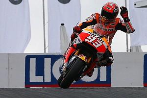 MotoGP 予選レポート MotoGPドイツ:マルケス今季4回目のPP。ロレンソ2回の転倒