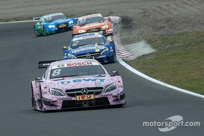 DTM in Zandvoort: Mercedes vor Audi im 3. Training