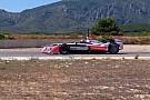 Monteiro prueba un coche de Formula E en Calafat