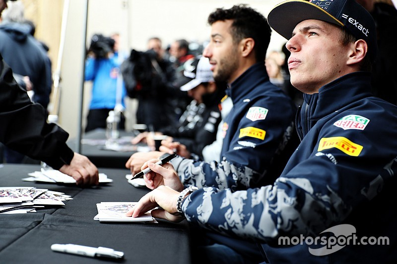 """Verstappen no me asusta"", insiste Ricciardo"