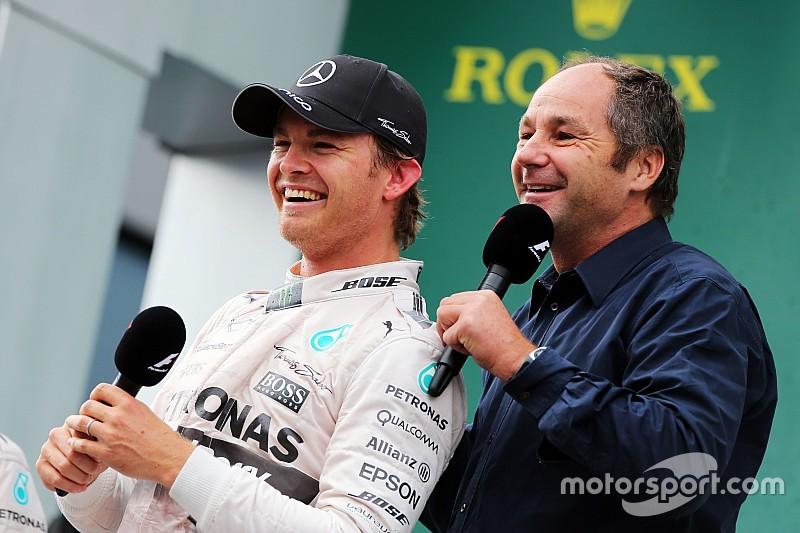 Rosberg, agradecido con Berger por su nuevo contrato