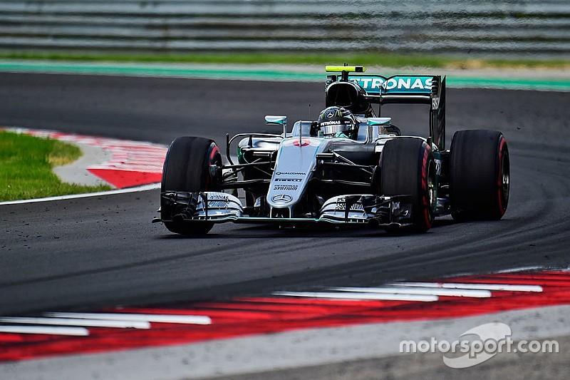 Rosberg bate a Verstappen por dos milésimas en la última sesión libre