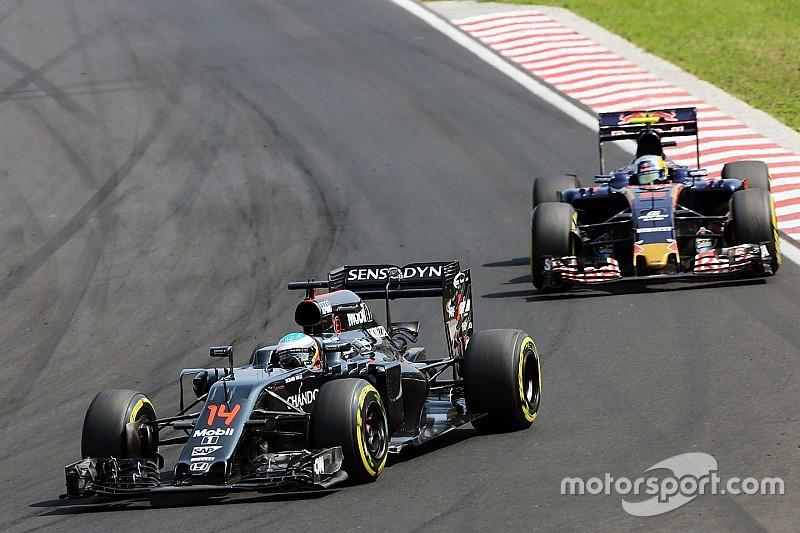 """McLarens Entwicklungstempo für Toro Rosso """"besorgniserregend"""""""